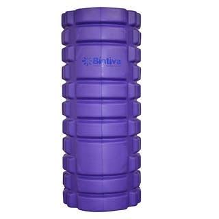 Bintiva Reinforced Black/Purple Hollow Foam Roller https://ak1.ostkcdn.com/images/products/12747437/P19524638.jpg?impolicy=medium