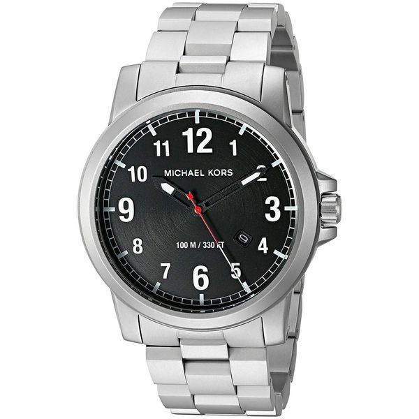 943282af775e Shop Michael Kors Men s MK8500  Paxton  Stainless Steel Watch - silver -  Free Shipping Today - Overstock - 12747446