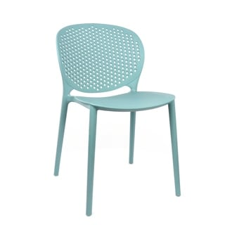 Muut Surfin Blue Modern Stackable Side Chair (Set of 4)