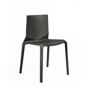 Vector Black Modern Stackable Dining Chair (Set of 4)