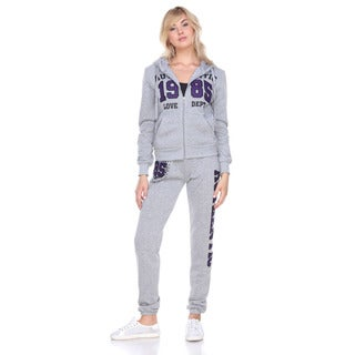Stanzino Women's Fleece-lined Sweatsuit