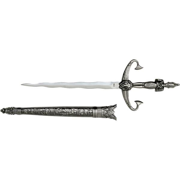 Fantasy Master Stainless Steel 13.5-inch Egyptian Royalty Short Sword