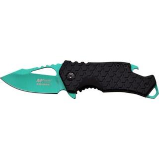 Mtech Stainless Steel Blade Nylon-fiber Handle Assisted-opening Multi-function Folding Pocket Knife