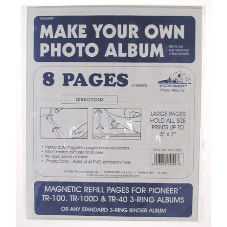 Pioneer Photo Albums SRF1200-Refill Refill Pages For TR10...