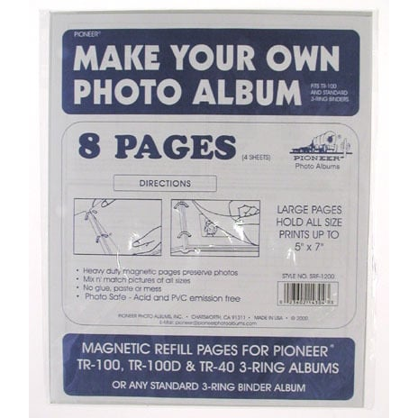 Shop Pioneer Photo Albums Srf1200 Refill Refill Pages For Tr100