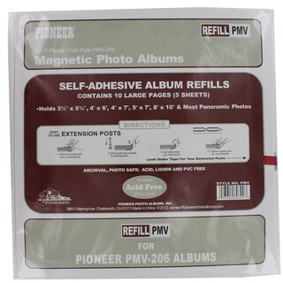 Pioneer Photo Albums PMV-REFILL Photo Album Refill For PMV-206