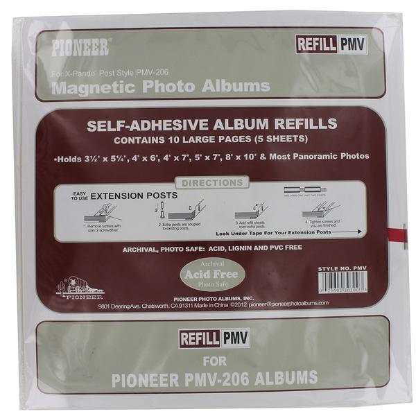 Shop Pioneer Photo Albums Pmv Refill Photo Album Refill For Pmv 206