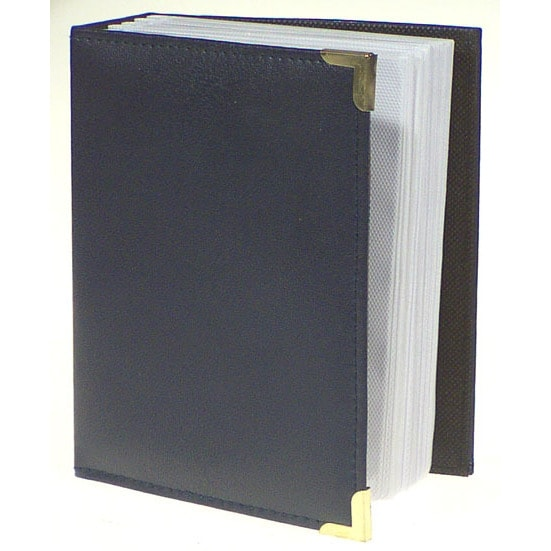 "Pioneer Photo Albums E4-100 4"" X 6"" Black Oxford Photo Al..."