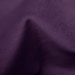 Skyline Furniture Velvet Aubergine Nail Button Bed