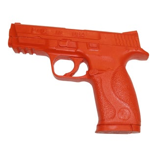 Ronin Gear Safety Orange Rubber Compact Training Auto Pistol