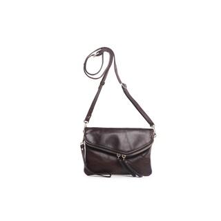 Vicenzo Leather Rosa Leather Crossbody/Belt Bag/Clutch