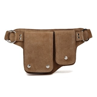 Elisa Suede Leather WaistBag