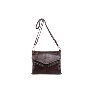 Vicenzo Leather Gellis Leather Crossbody Handbag