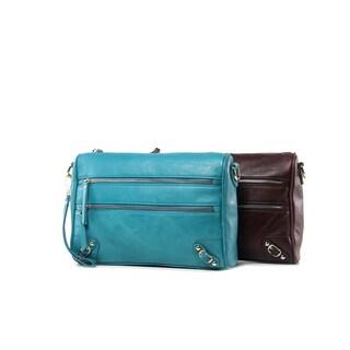 Esperance Leather Crossbody Mini Bag