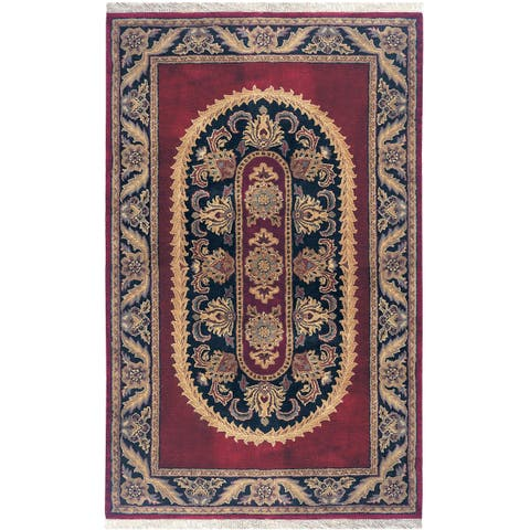 Majestic Collection Multicolor Wool Hand-tufted Area Rug (9'6 x 13') - 9'6 x 13'