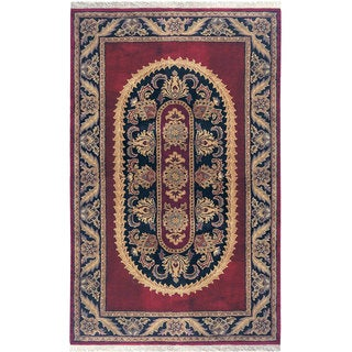 Majestic Collection Multicolor Wool Hand-tufted Area Rug (9'6 x 13')