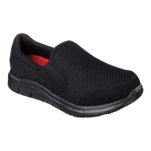 Women's Skechers Work Relaxed Fit Cozard Slip Resistant Slip On Black -  Free Shipping Today - Overstock.com - 19525059