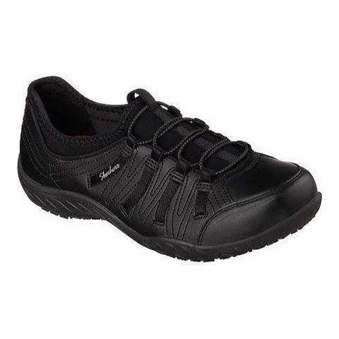 Women's Skechers Work Relaxed Fit Rodessa Slip Resistant Shoe Black