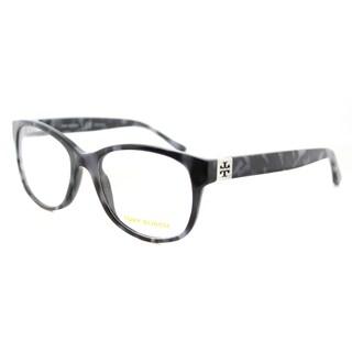 Tory Burch Pearl Navy Tortoise Plastic 51-millimeter Rectangle Eyeglasses