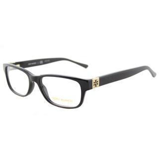 Tory Burch TY 2067 1377 Black Plastic 50-millimeter Rectangle Eyeglasses