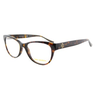 Tory Burch TY 2065 1378 Dark Tortoise Plastic 53-millimeter Cat-eye Eyeglasses