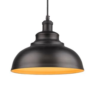 Old-fashioned Curved Shade Pendant Light