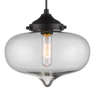 Infurniture Elegant Glass Pendant Light