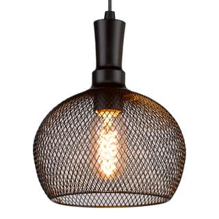Free-collocational Mesh Enclosure Pendant Light (Bonus LED Bulb Is Included Until 10/31/2016) https://ak1.ostkcdn.com/images/products/12748751/P19525669.jpg?impolicy=medium