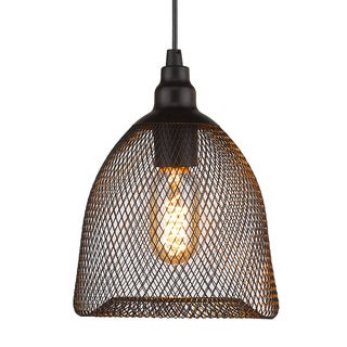 Free-Collocational Mesh Enclosure Pendant Light (Bonus LED Bulb Is Included Until 10/31/2016)