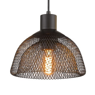 Mesh Enclosure Pendant Light