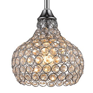 Crystal Net Shade Mini Pendant Light