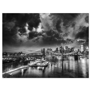 Link to Amazing Night in New York City - Cityscape Glossy Metal Wall Art Similar Items in Metal Art