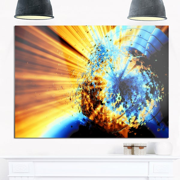 Wonderful Blue And Brown Wall Art Contemporary - Wall Art Design ...