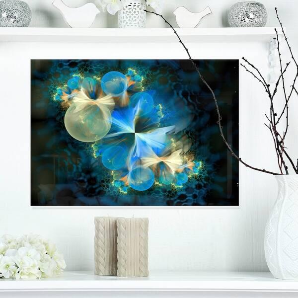 Fractal 3D Blue Bubbles Abstract Art Glossy Metal Wall Art 5f87440e d7e7 4236 8313 fa9dae1e82ec 600