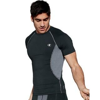Champion Gear Men's Polyester/Spandex Compression Short-sleeve T-shirt