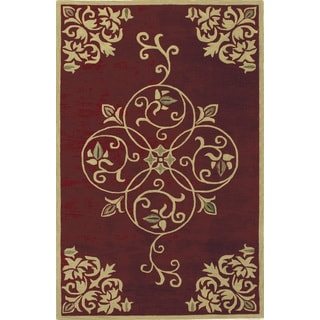 Hand-tufted Imperial Wool Rug (5' x 8')