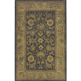 Hand-tufted Willow Wool Rug (9'6 x 13')