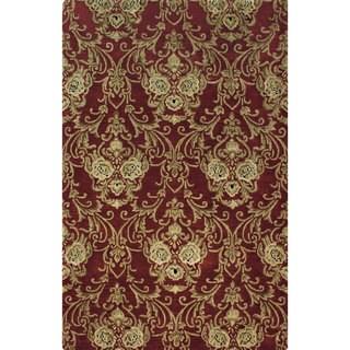 Hand-tufted Atlas Wool Rug (9'6 x 13')