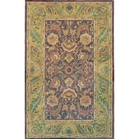 Hand-tufted Willow Wool Rug (5' x 8')