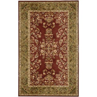 Hand-tufted Avalon Wool Rug (5' x 8')