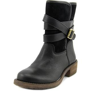 Lucky Brand Women's Declann Black Leather Boots