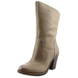 Lucky Brand Women's 'Embrleigh' Grey Leather Boots
