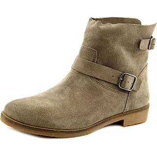 Lucky Brand Women's Galvann Grey Suede Ankle Boots