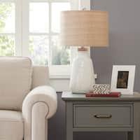Madison Park Tate Ivory Table Lamp