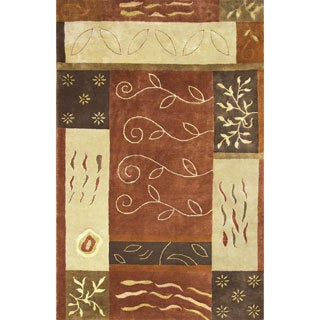 Hand-tufted Sahara Wool Rug (8' x 11')