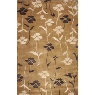 Hand-tufted Mirage Wool Rug (9'6 x 13')
