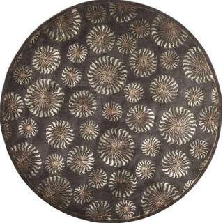 Hand-tufted Mirage Wool Rug Round (8' x 8')