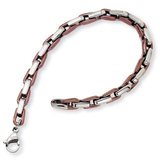 Stainless Steel Fancy Link Bracelet