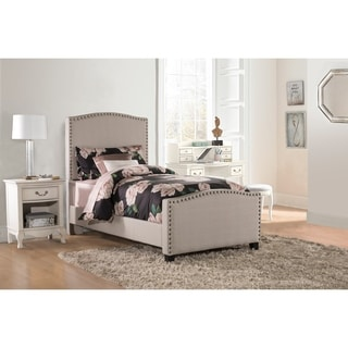 HIllsdale Kerstein Dove Grey Upholstered Bed