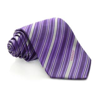 Versace Striped Tie